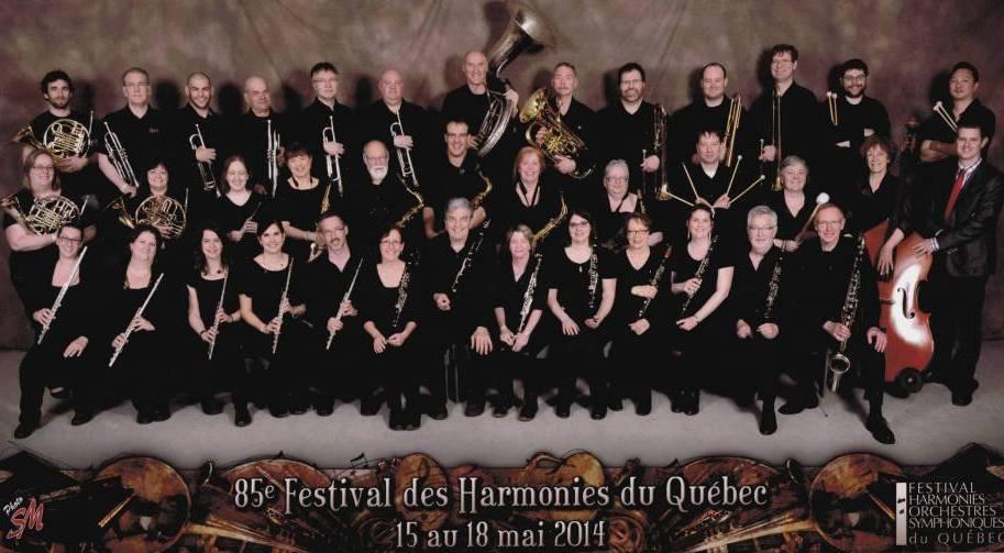 Festival des Harmonies et Orchestres Symphoniques du Québec 2014